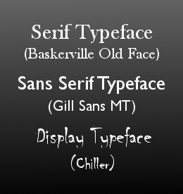 Self Publishing Part 8: The Wisdom of Fonts – 10 book typefaces that