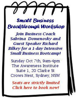 Small Business Workshop - Click here to book your ticket