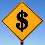 Dollar Road Sign